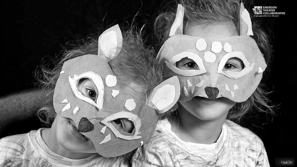 Emerson Theater Collaborative Summer Youth Camp Attendees in Masks 2019