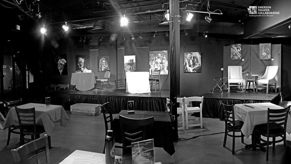 Emerson Theater Collaborative at The Collective interior space
