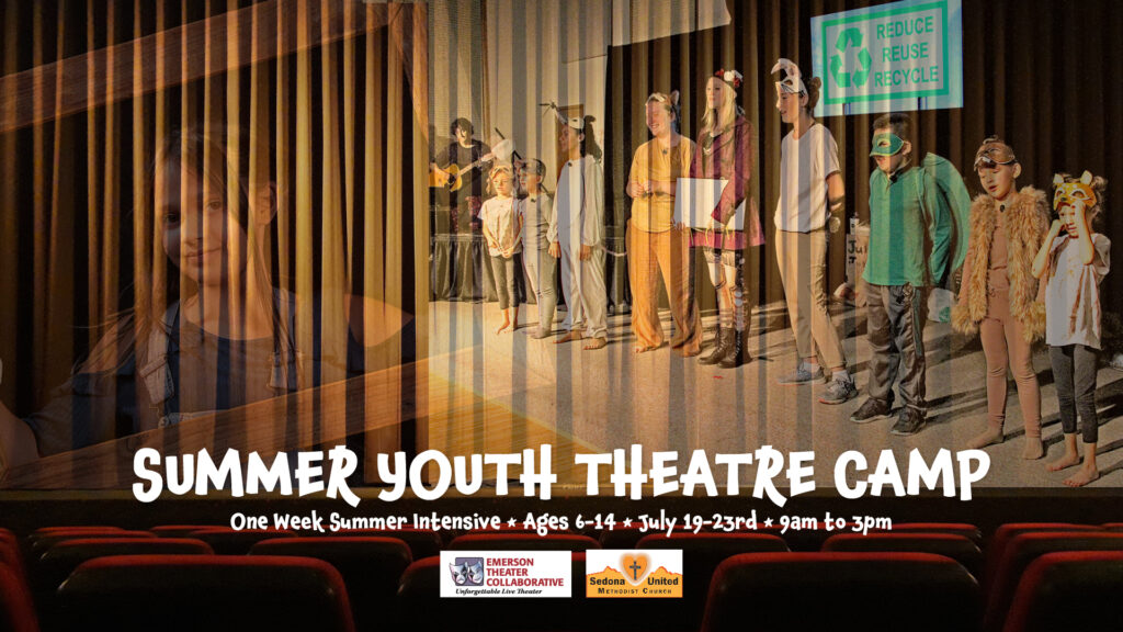 Summer Youth Theatre Camp Graphic