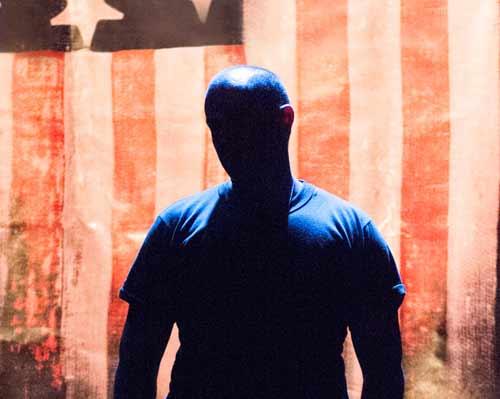 Douglas Taurel in the American Soldier 2021